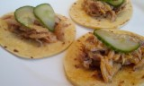 Mini Asian Pulled Chicken Tacos
