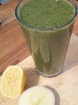 Green smoothie – an easy raw meal